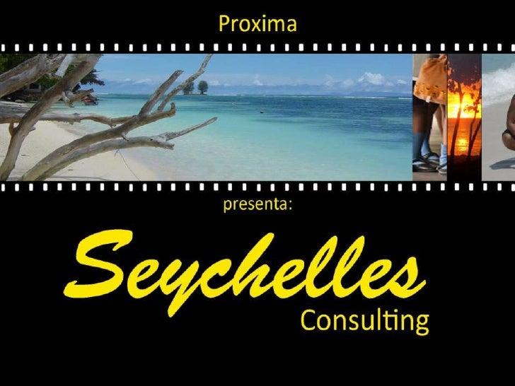 Presentazione Seychelles Consulting