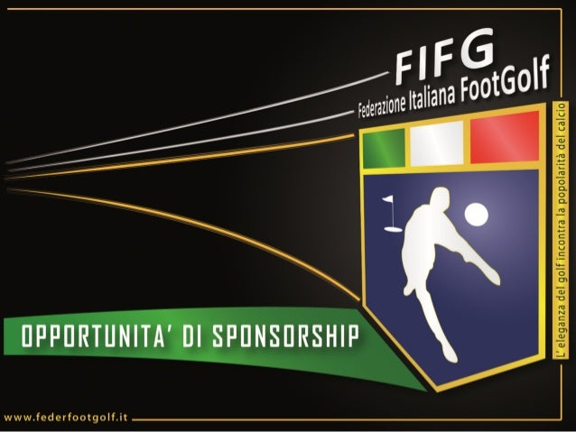Piano Sponsor Federazione Italiana FootGolf