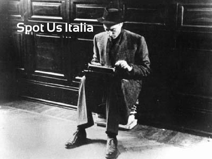 Presentazione Spot Us Italia