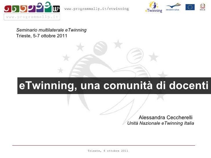 Presentazione Trieste ottobre 2011
