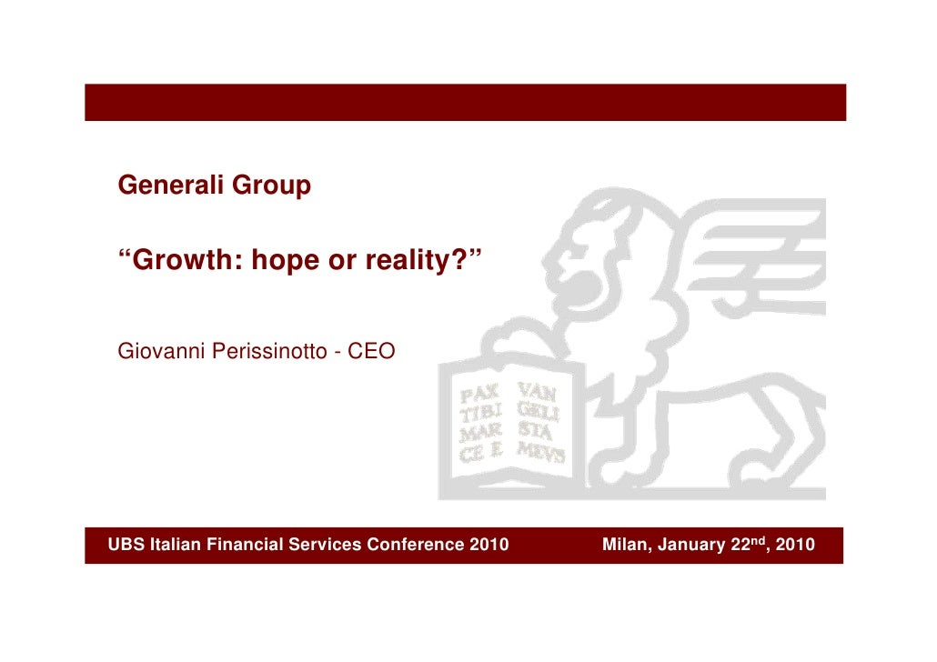 """""""Growth: hope or reality?"""""""