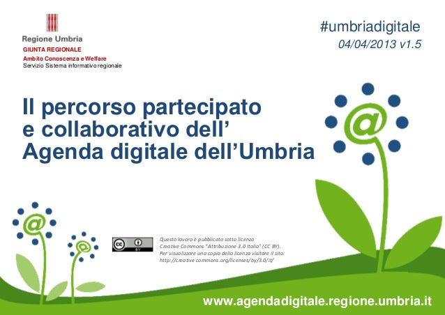 #umbriadigitaleGIUNTA REGIONALE                                                                                           ...