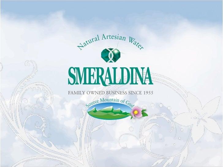 Smeraldina Presentation