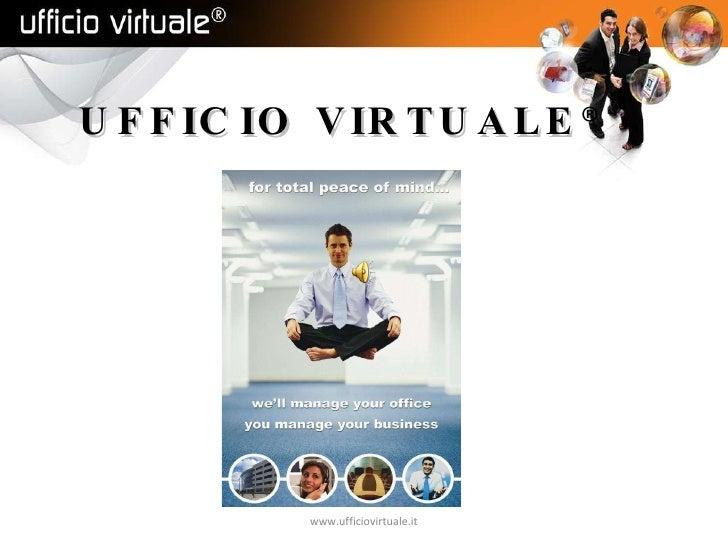 UFFICIO VIRTUALE ® www.ufficiovirtuale.it