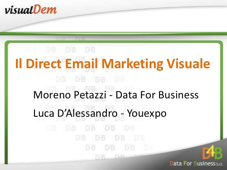 Visual DEM - Il Direct Email Marketing Visuale