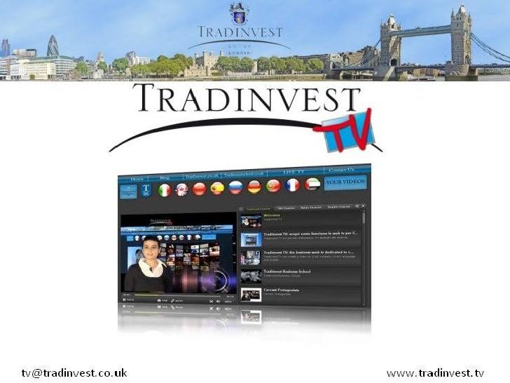 Presentazione Web Television