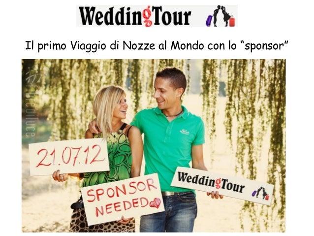 Presentazione Wedding Tour