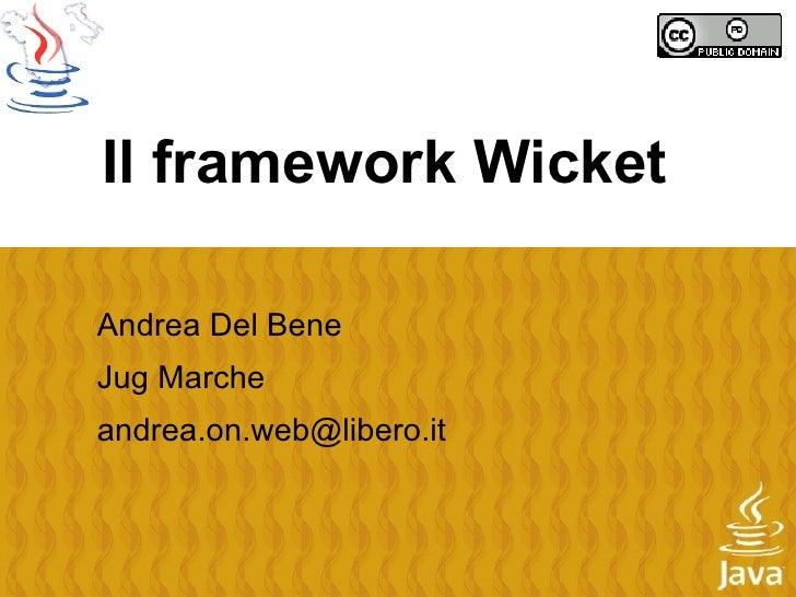 Presentazione wicket