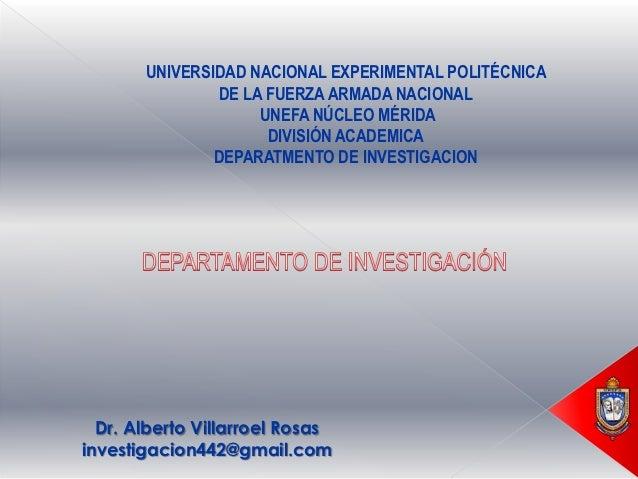 Presentcion dpartamento de_investigacion al