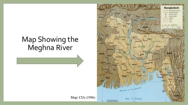 Meghna River Map