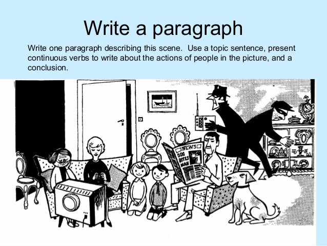 how to write a paragraph worksheets