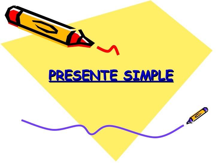 Imagenes de Presente Simple Simple Present Tense
