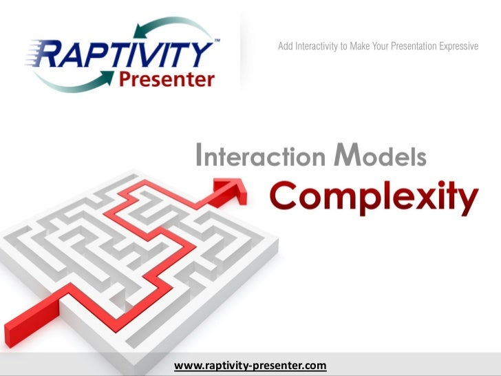Presenter interactions-by-complexity-110520034912-phpapp01