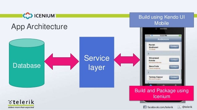Create Hybrid Mobile Application With Icenium And Kendo Ui Mobile