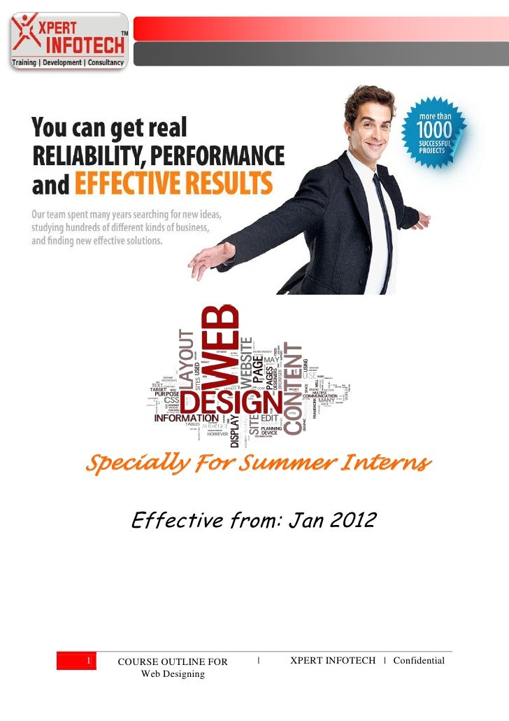 Presenter manual web designing (specially for summer interns)