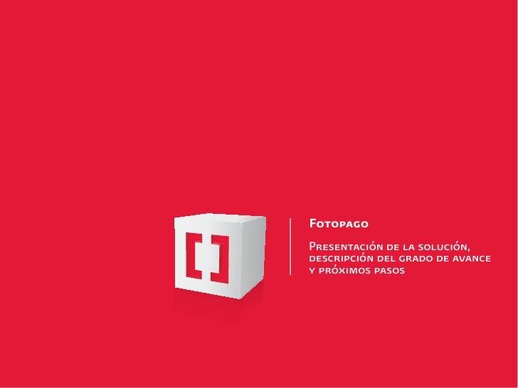 """MOMO Buenos Aires""""Nuevas aplicaciones para pagos móviles"""" - FOTOPAGO CODAMATIO"""