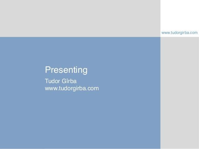 Presenting is storytelling at Uni Zurich - slides (2014-03-05)