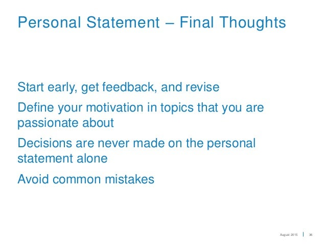 uc personal statement video Writing college admissions essays/ uc personal statements information, strategies, & tips workshop topics uc personal statement prompts.