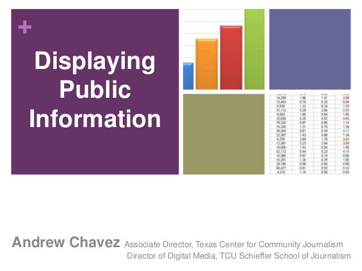 Andrew ChavezAssociate Director, Texas Center for Community JournalismDirector of Digital Media, TCU Schieffer School of J...