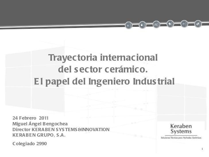 Presentación de Keraben para 15 años de INVATE