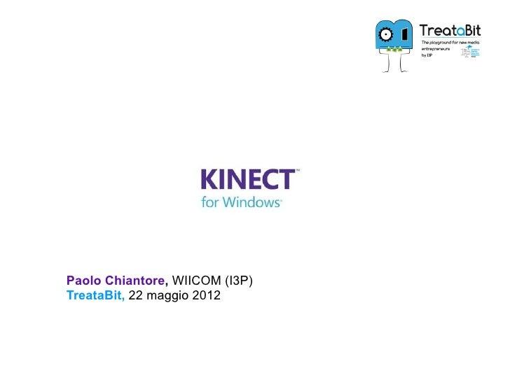 Present kinect4 windows