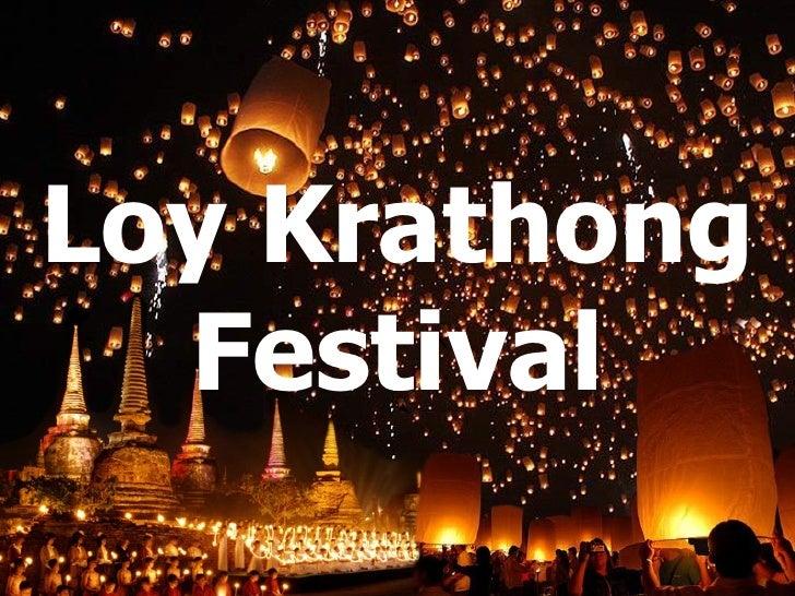 Present Loy Krathong Festival