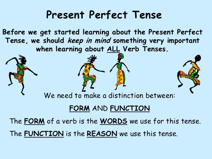Action Verbs also Present Perfect Tense Ex les likewise English Verb ...