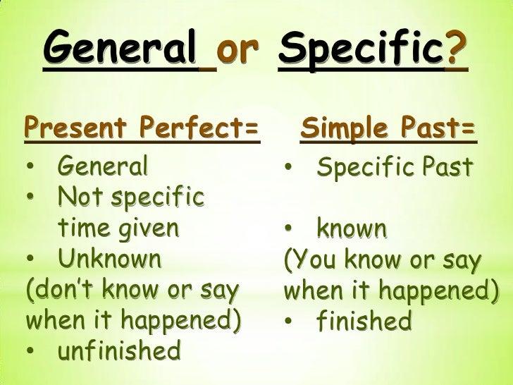 present perfect vs past simple exercises pdf