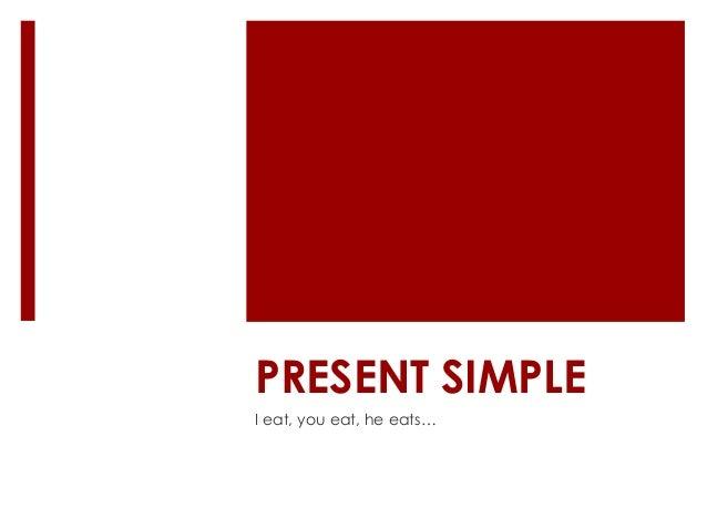 Present simple a1