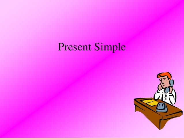 Present simple tense3