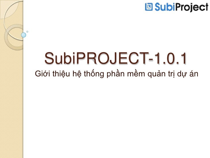 SubiProject Introduction