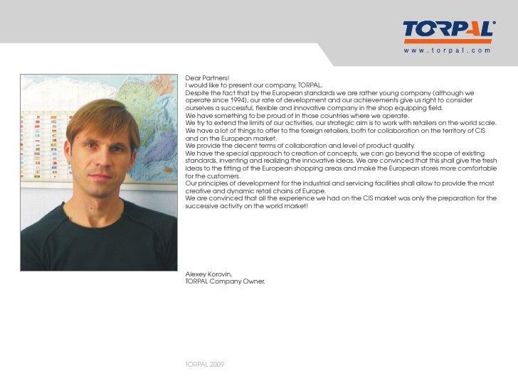 TORPAL Company Presentation