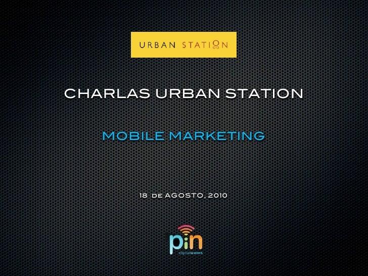 Ciclo de Charlas Urban - Mobile Marketing
