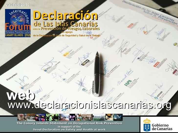 Presentacion del entorno web Declaración Islas Canarias larga1(2)