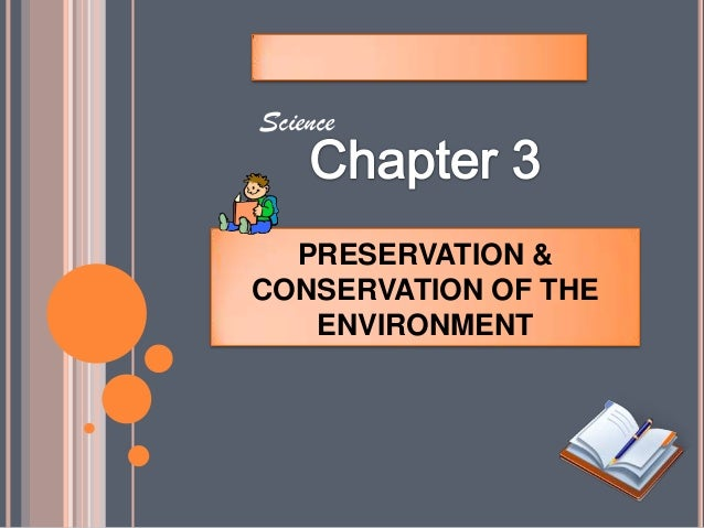essay on preservation and conservation of nature
