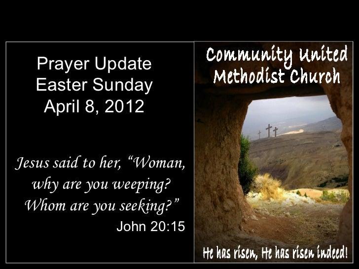 Slides for April 8, 2012