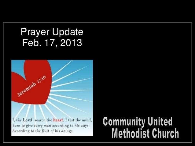 Slides for February 17, 2013