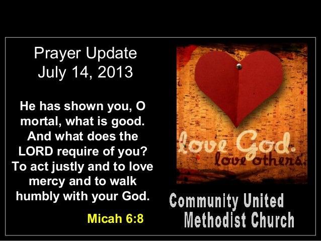 Slides for July 14, 2013