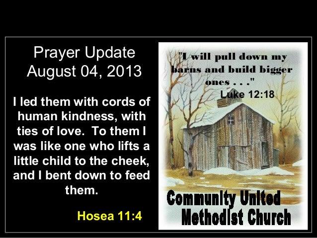 Slides for August 4, 2013
