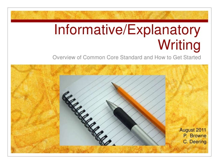 informative essay common core Download and read informative essay prompts common core informative essay prompts common core why should wait for some days to get or receive the informative essay.
