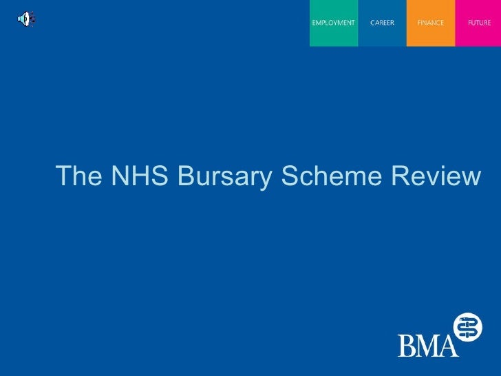 The NHS Bursary Scheme Review