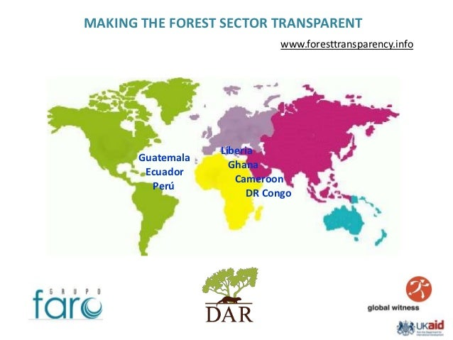 MAKING THE FOREST SECTOR TRANSPARENT                              www.foresttransparency.info                   Liberia   ...