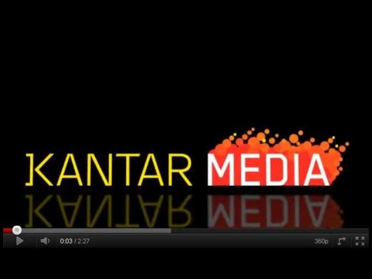 Introduction to Kantar Media