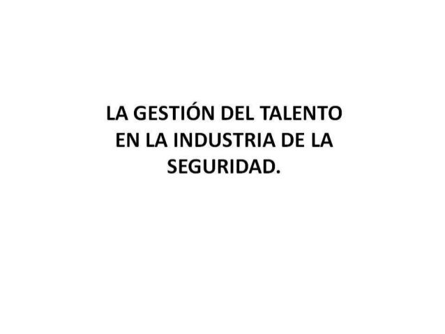 Gestión de Talento