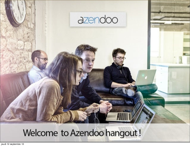 Azendoo new design and features