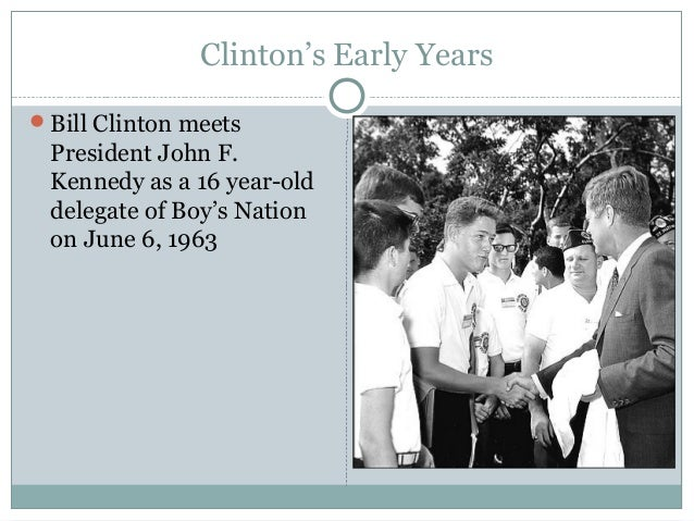 the early life of william jefferson clinton Early life aug 19, 1946 -- clinton is born william jefferson blythe iv in hope,  ark, after his father dies in a traffic accident he later takes the.
