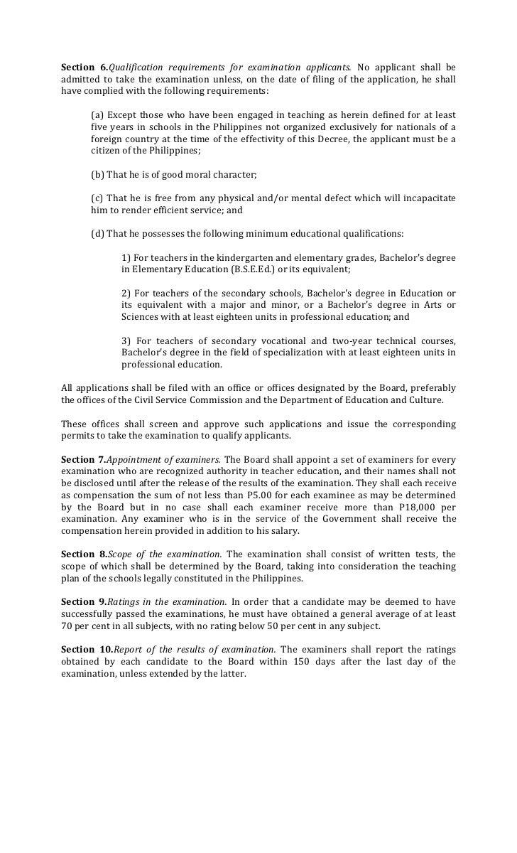 history of presidential decree 1006