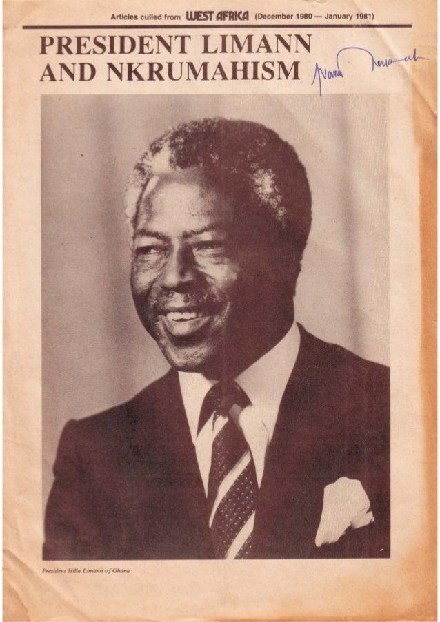 President Limann  and Nkrumahism