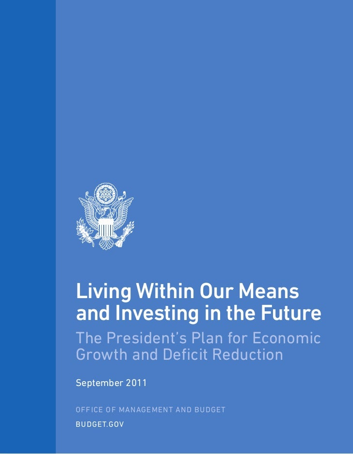 President Obama's plan for economic growth and deficit reduction