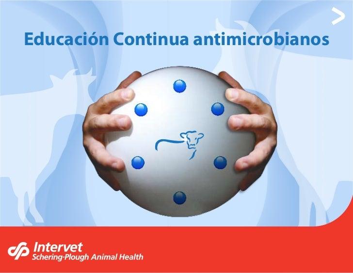 Educación Continua antimicrobianos